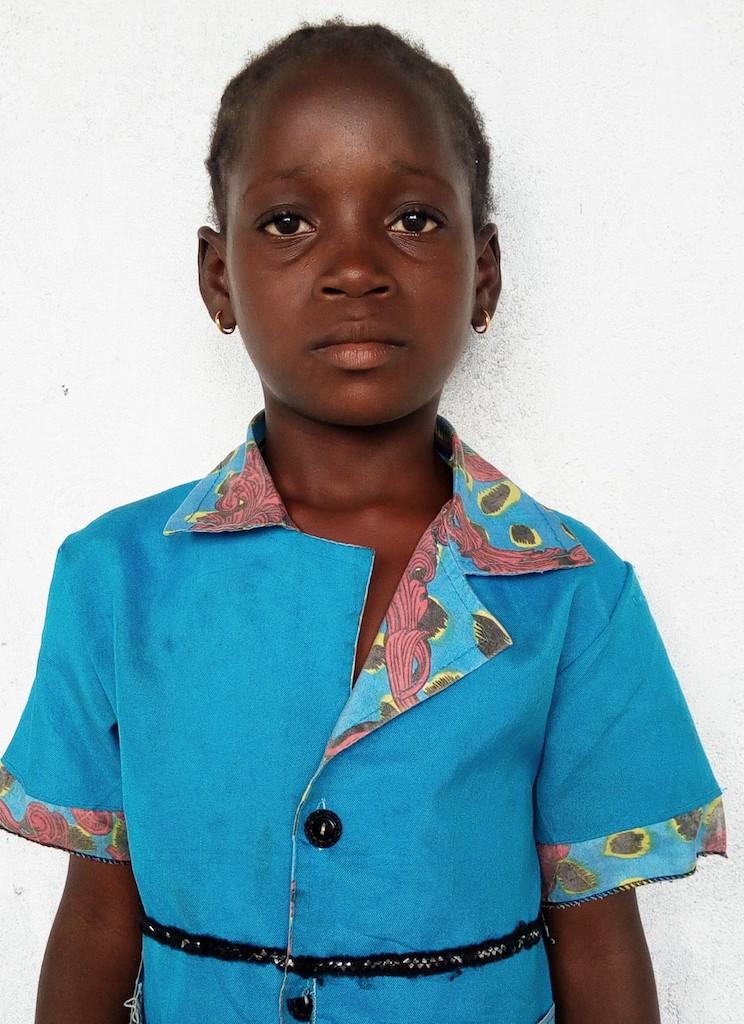 Gaduo Morris (1st Grade, 9 Years old, Female, Liberia.