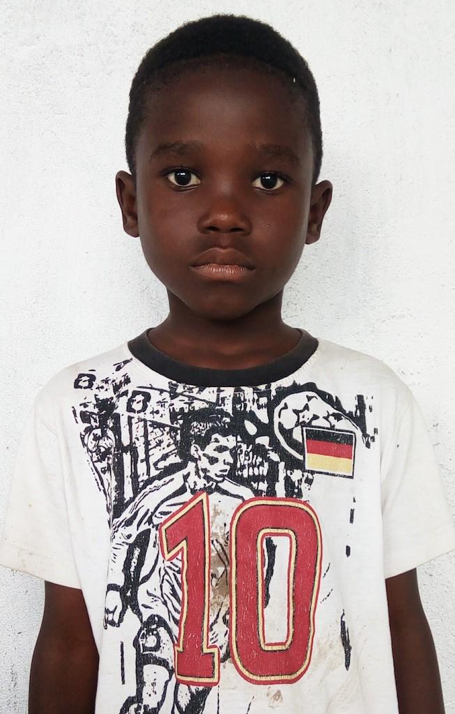 Kindergarten, 7 Years old, Male, Liberia