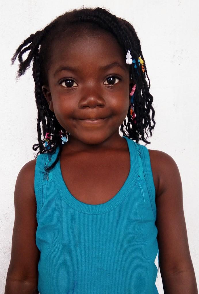 Kindergarten, 5 Years old, Female, Liberia