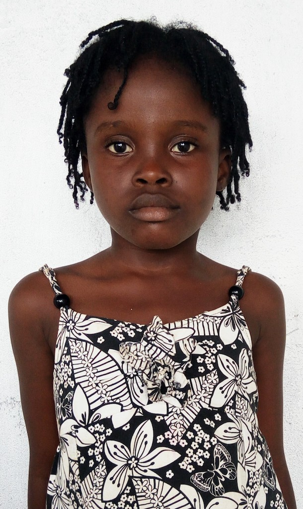 1st Grade, 7 Years old, Female, Liberia
