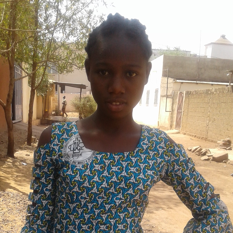 Coulibaly Kanou, 14yrs, G7 Doctor