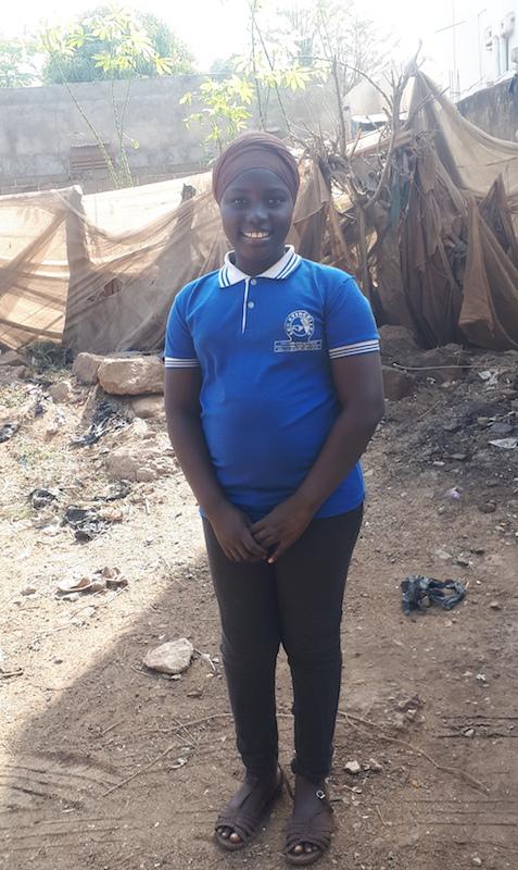 Camara Fatoumata, 12yrs, 7th grade, Electrician