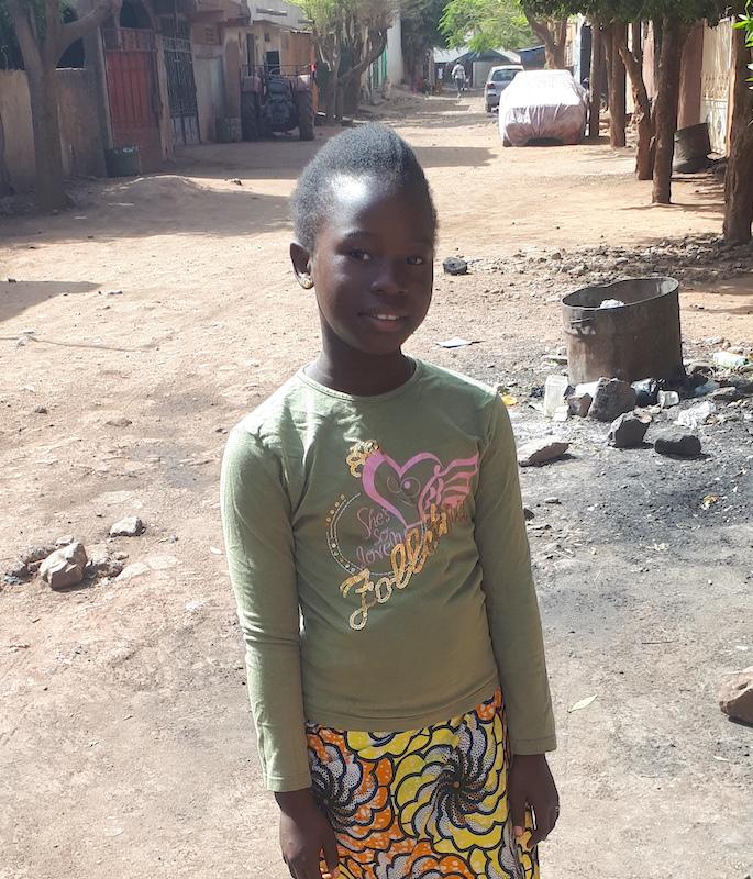 Camara Salimata, 10yrs, 4th Grade, Lawyer