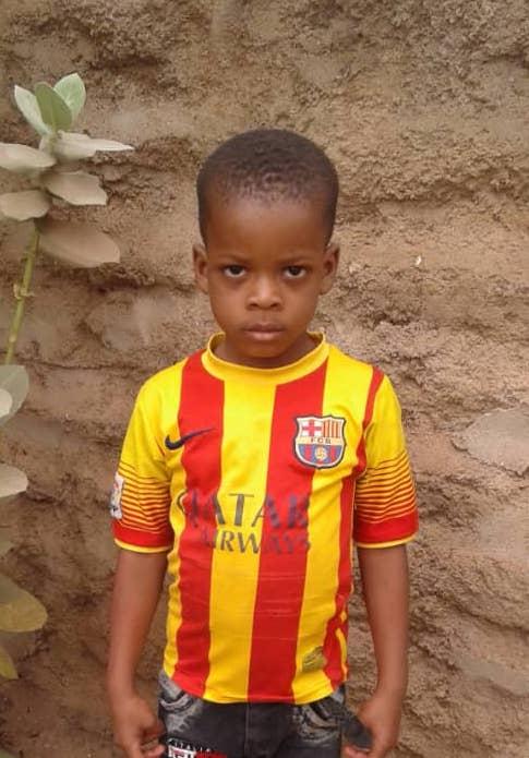 Traore Aboubacrime,4yrs Kindergaten Jounalist.