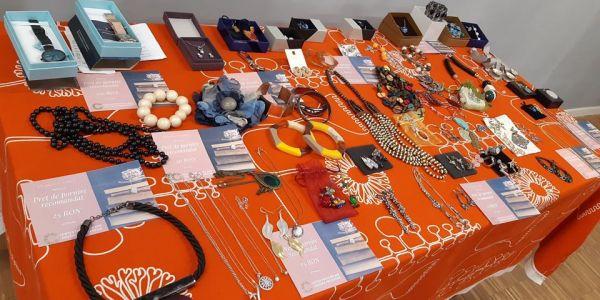 Vintage Donation Fair set up to support #UnitedForMali