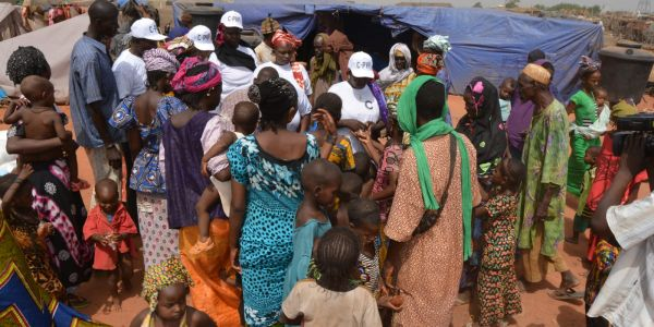 Emergency Relief Delivered to Refugees in Mali